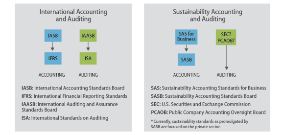 Accounting and Auditing Regulatory Structure: U S  and