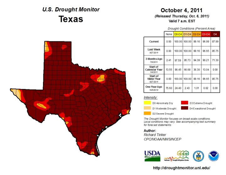 Drought in the United States: Causes and Current ... on current drought map may 2013, current us temperature map, current world weather map, current drought map for south america,