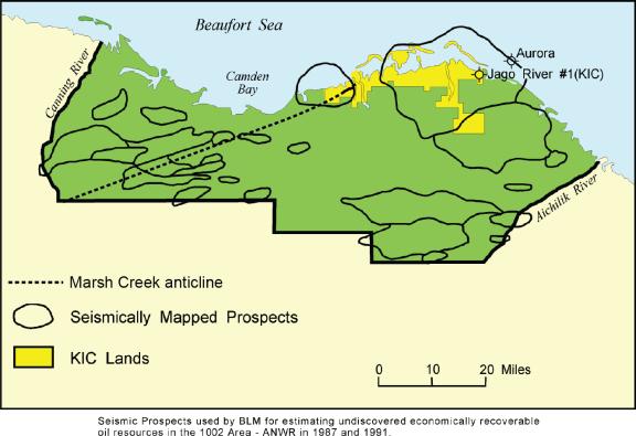 Anwr Alaska Map.Arctic National Wildlife Refuge Anwr An Overview Everycrsreport Com
