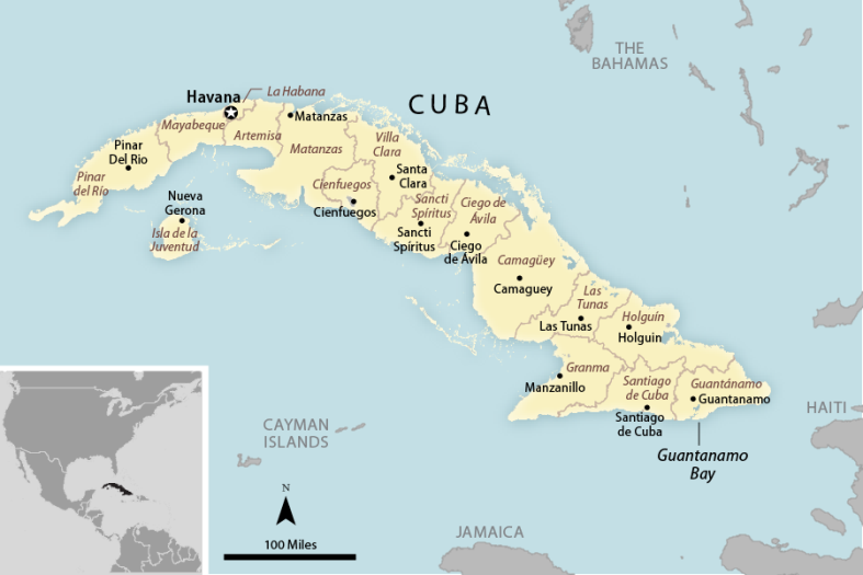 Cuba us policy in the 115th congress everycrsreport provincial map of cuba publicscrutiny Images