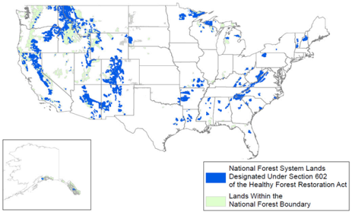 Forest Management Provisions Enacted in the 115th Congress