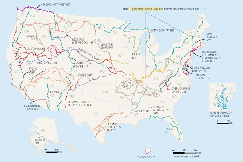 The National Trails System: A Brief Overview
