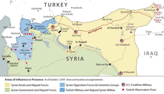 Turkish Incursion into Syria: U.S. Policy Implications ...