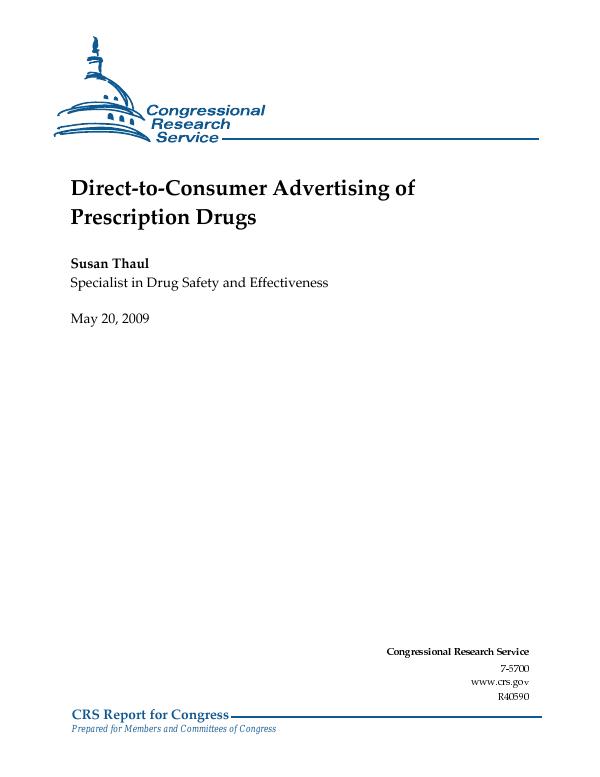 prescription drug advertising regulations