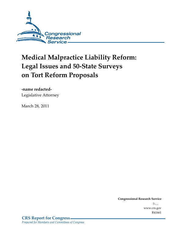 A Primer on Legal Issues for Professionals Health Care Malpractice