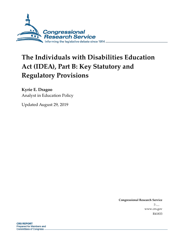 10 Key Procedural Safeguards In Idea >> The Individuals With Disabilities Education Act Idea Part B Key