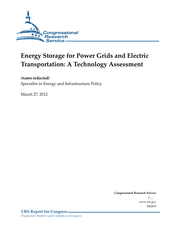 Energy Storage for Power Grids and Electric Transportation