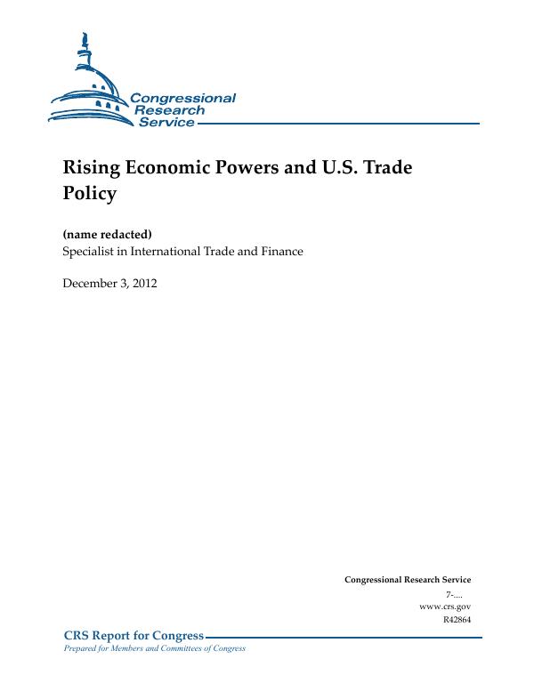 U.S. International Trade