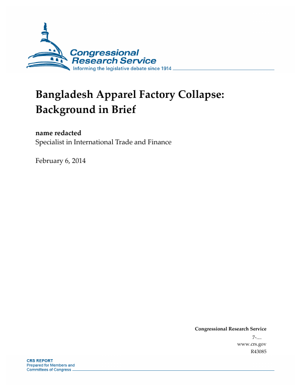 20abe7bb4 Bangladesh Apparel Factory Collapse: Background in Brief ...