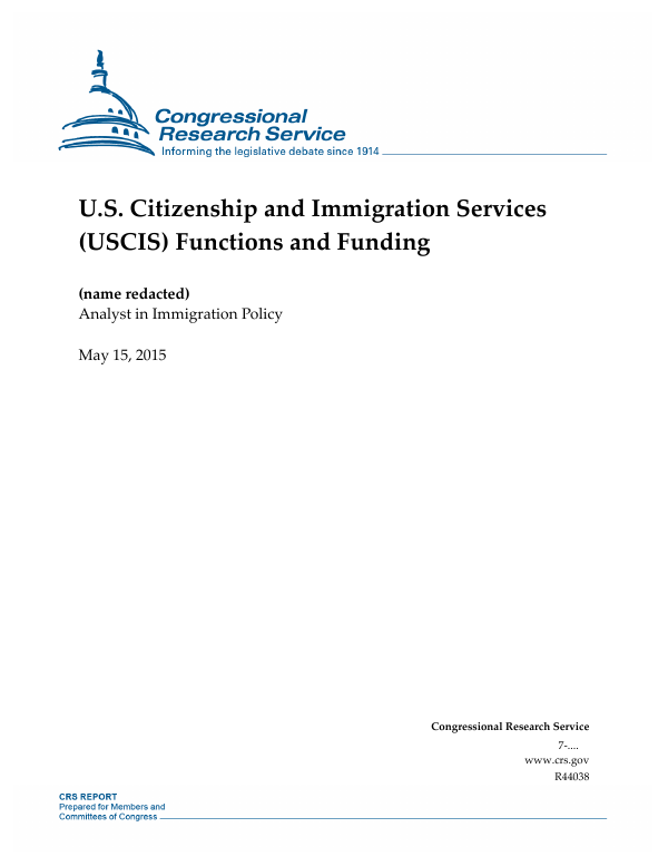 Us Citizenship And Immigration Services Uscis Functions And