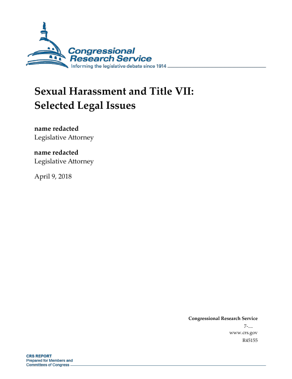 What is sexual harassment under title vii