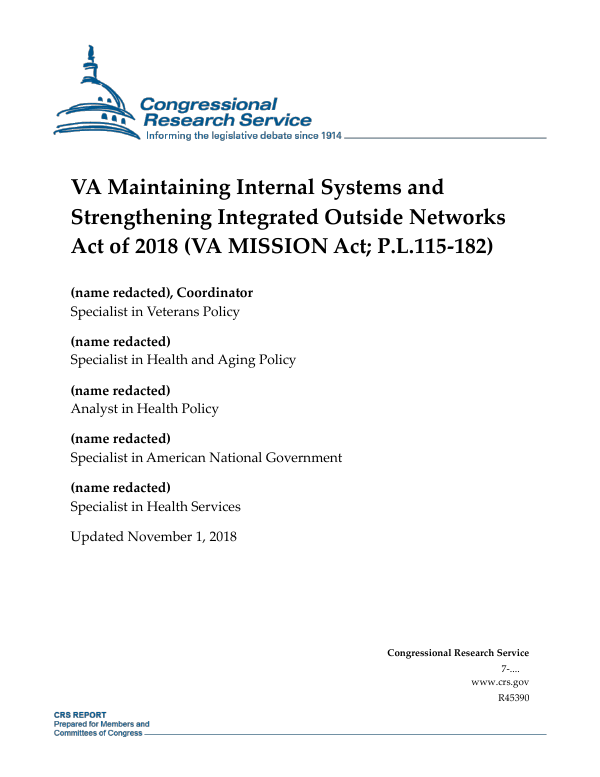 VA Maintaining Internal Systems and Strengthening Integrated