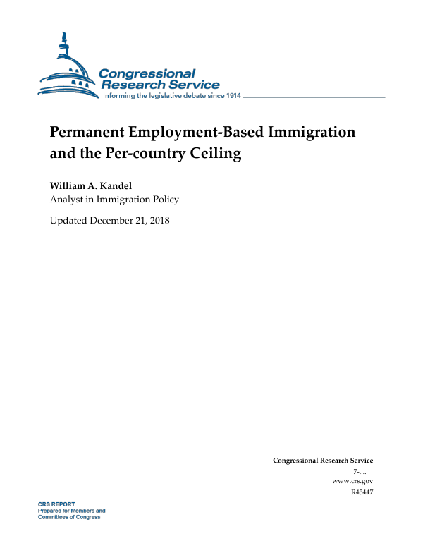 Permanent Employment-Based Immigration and the Per-country