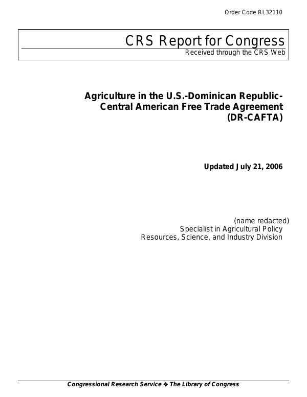 Agriculture In The Us Dominican Republic Central American Free