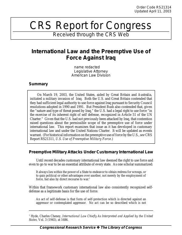 use of force in international law essay International law: piracy, law of the sea, and use of force essay.